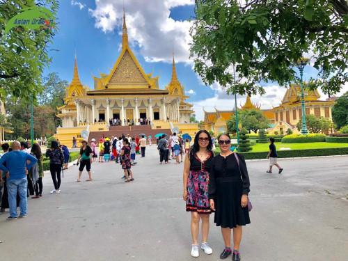 Hình ảnh đoàn tham qua Campuchia Siêm Riệp khởi hành ngày 29-6-2018