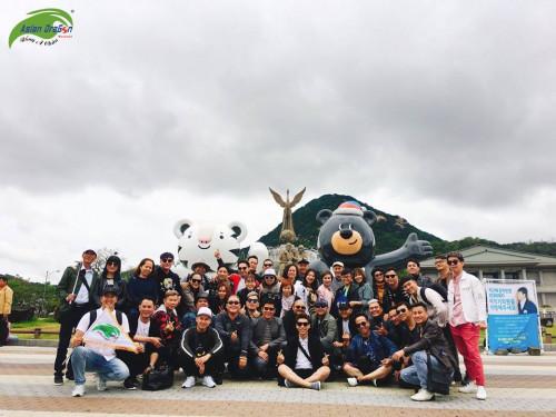 Hình ảnh đoàn tham quan kết hợp công tác tại học viện Juno - Hàn Quốc (5-5-2018)