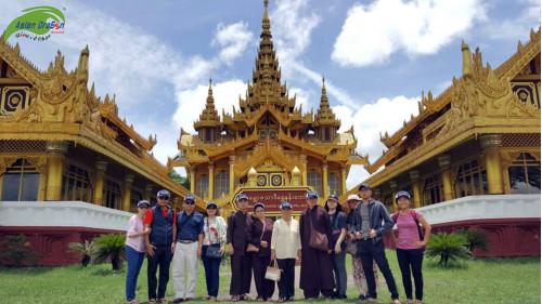 Hình ảnh thực tế tour Myanmar khởi hành 31-05-2018