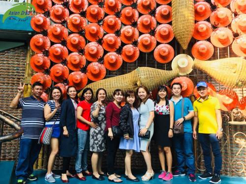 Kỉ niệm Đoàn Thái Lan khởi hành ngày 13-12-2017