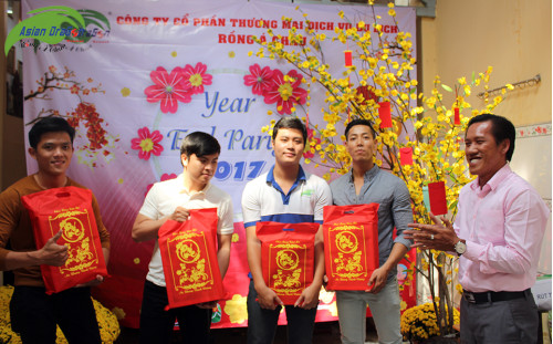 Year end Party 2017 - Du lịch Rồng Á Châu