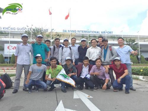 Hình ảnh đoàn tham quan Đà Nẵng, khởi hành 01/12/2017
