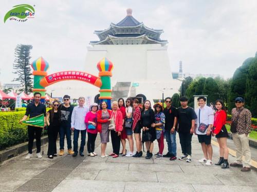 Hình ảnh kỷ niệm đoàn Đài Loan khởi hành ngày 17-4-2019