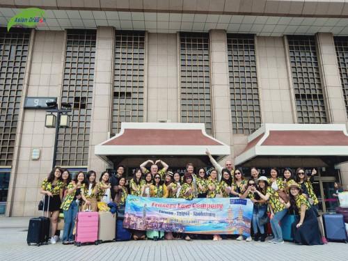 Hình ảnh đoàn Đài Loan khởi hành ngày 28-3-2019