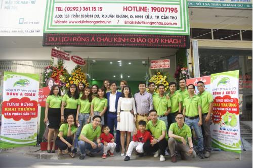 Công ty du lịch Rồng Á Châu tưng bừng khai trương chi nhánh Cần Thơ