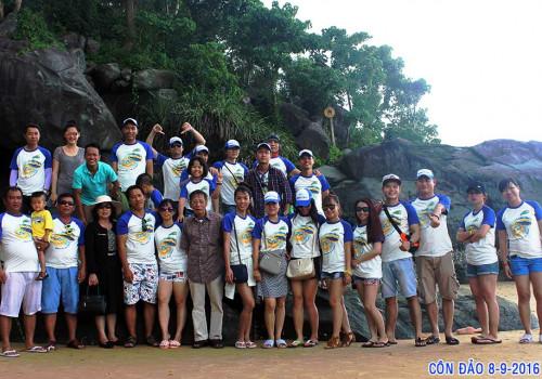 Hoạt động nghỉ dưỡng hàng năm của Công ty ở Côn Đảo