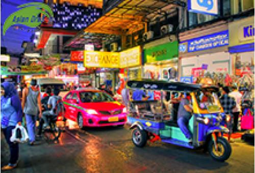 """Du lịch Thái Lan săn hàng """"Sale off"""" cuối năm"""