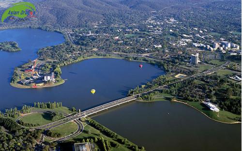 Khám phá Canberra- một thủ đô yên bình bậc nhất của nước Úc
