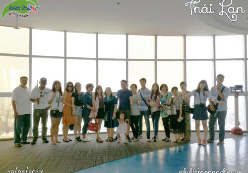 Tour Thái Lan: Bangkok-Pattaya 5 ngày 4 đêm khởi hành ngày 10-05-2017