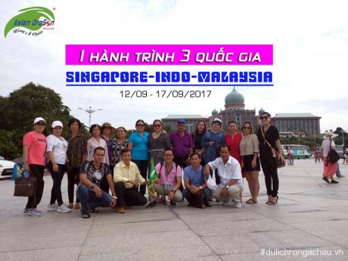 Kỷ niệm chuyến đi Singapore-Indo-Malaysia khởi hành 12-9-2017
