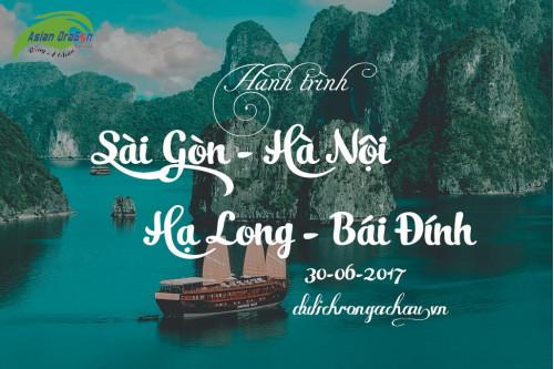 Album ảnh Tour Sài Gòn - Hà Nội - Hạ Long - Bái Đính khởi hành ngày 30/06/2017