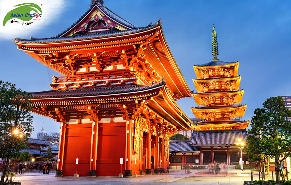 Tour du lịch Nhật Bản Tokyo - Narita – Fuji – Hanano Miyako  – Yokohama 4 ngày 3 đêm 5
